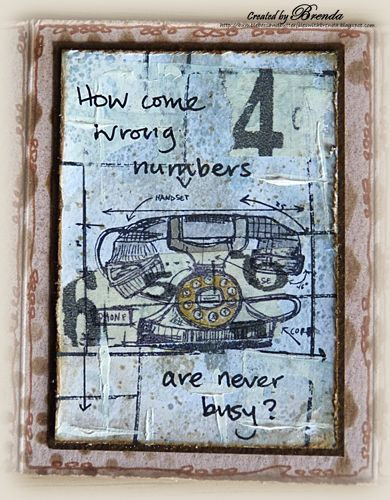 Eclectic Elements: Add an ATC | Unruly PaperArts