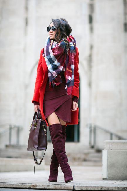 Red Red :: Crimson coat