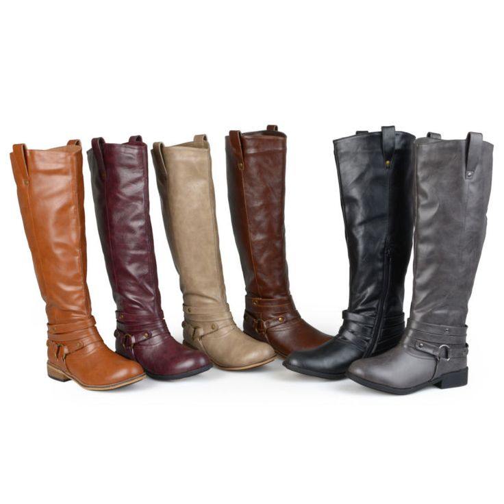 Journee Collection Womens Wide Calf Riding Boots