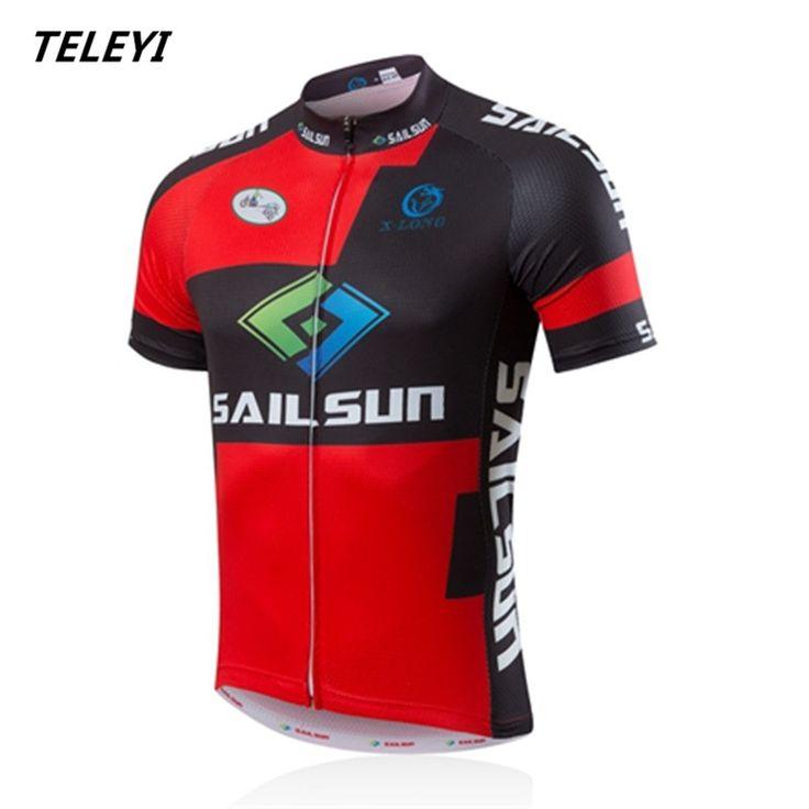 Sail Sun Racing Cycling Jerseys Maillot Ciclismo Short Sleeve Bike Clothes Breathable Bicycle