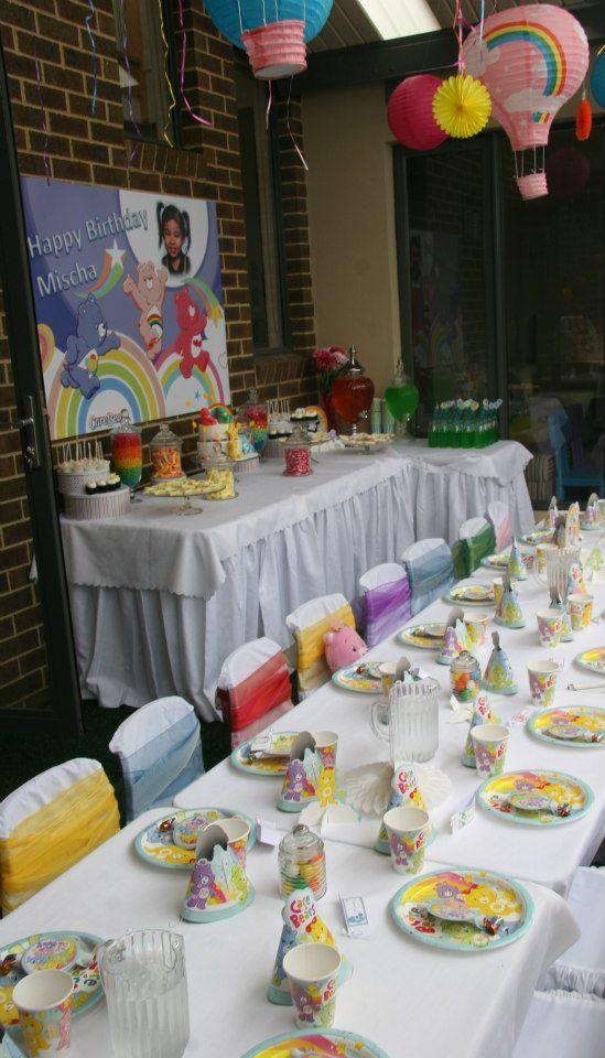 Care Bear Birthday Party