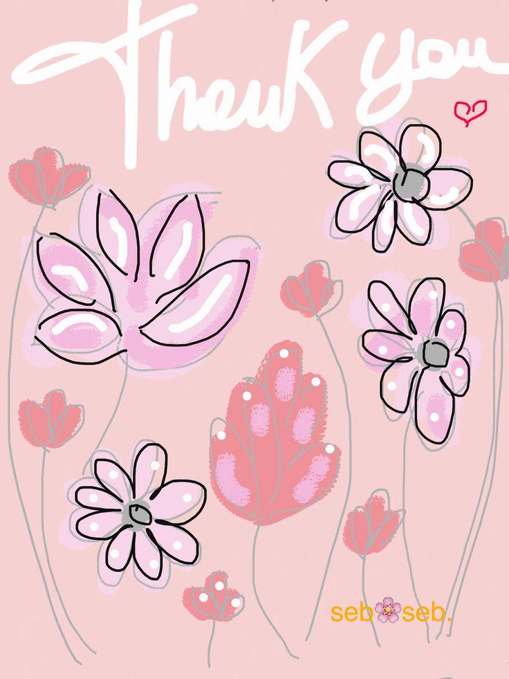 72 besten Thank you. Bilder auf Pinterest | Ich danke dir sehr ...