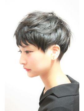 【RENJISHI 高橋勇太】モードでシルエットにこだわったショート - 24時間いつでもWEB予約OK!ヘアスタイル10万点以上掲載!お気に入りの髪型、人気のヘアスタイルを探すならKirei Style[キレイスタイル]で。