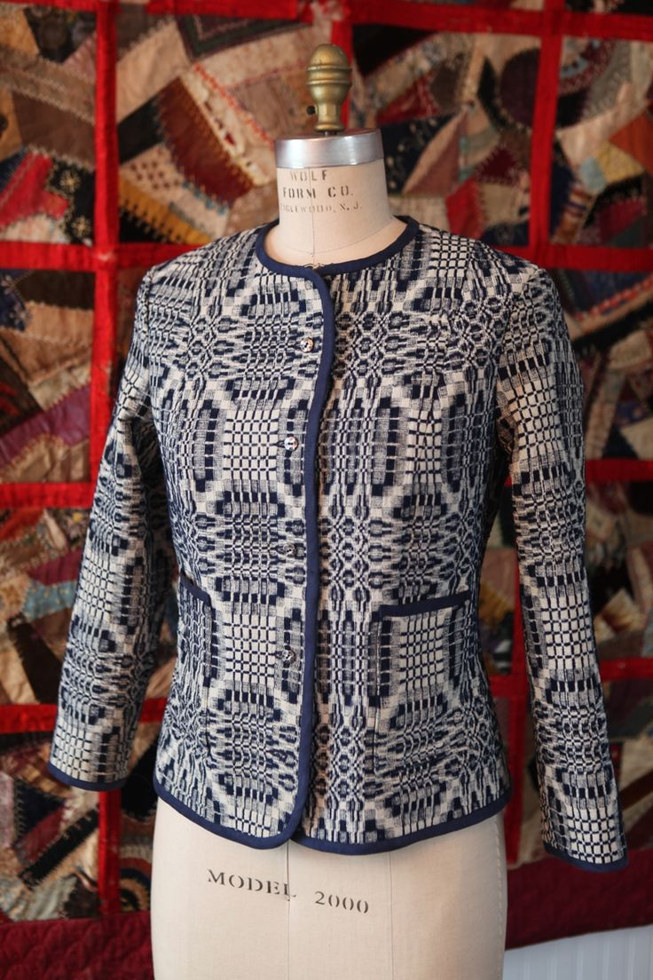 Beautiful jacket made with modified pattern