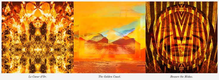 Happy summer Sunday everyone! The weather is beautiful and all the golden rays of this season has inspired this week's Art of Word with our word of the week being GOLD! We hope you are as dazzled by the result as we are! Cheers, The Wild Ones