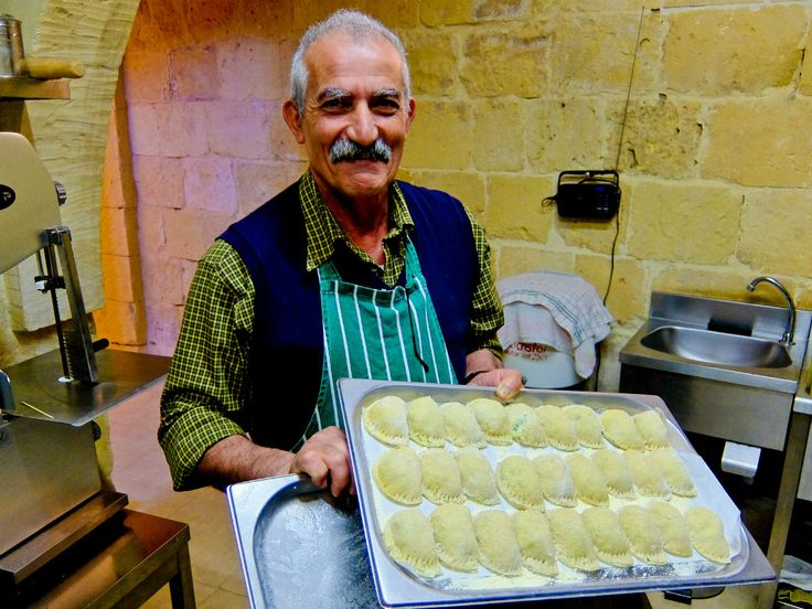Rikardu, owner of the Ta' Rikardu wine bar in Gozo. Best of all is his home made ravioli, stuffed with soft cheese and topped with delicious tomato sauce.  For the full article, see www.thetravelmagazine.net/gozo-malta.html?utm_medium=social&utm_source=pinterest&utm_campaign=blog&utm_content=thetravelmag #Malta #Gozo #travel