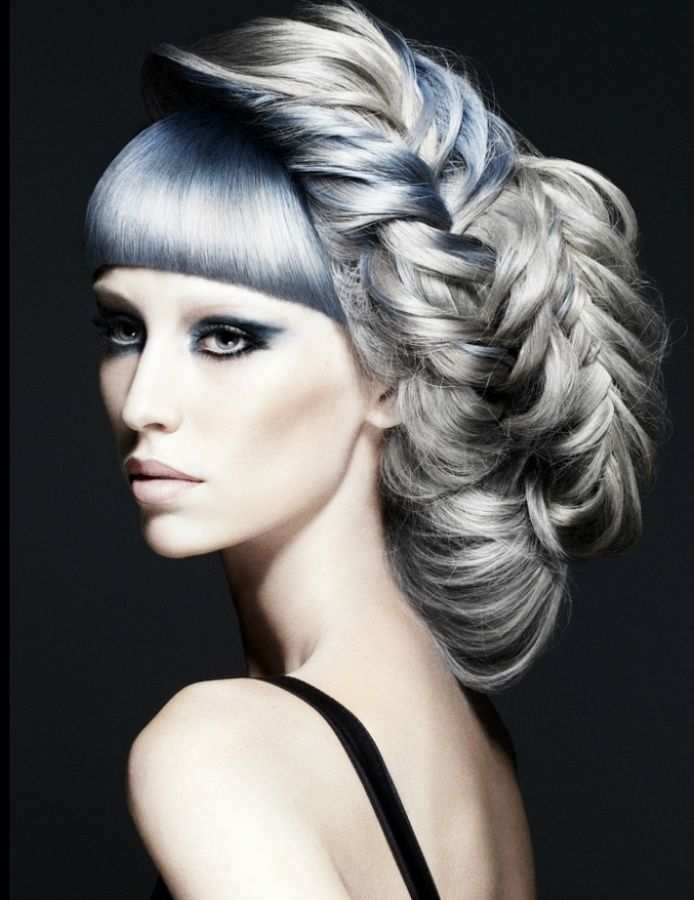 colour hair style 39 best images about outrageous hair styles on 7910