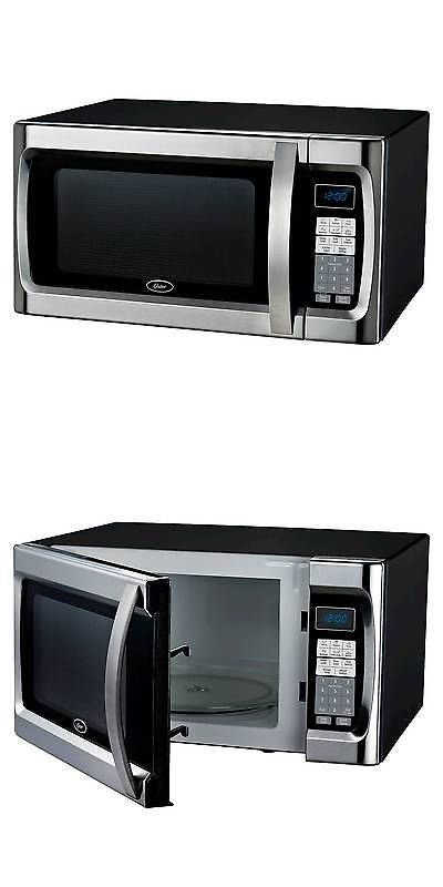 Major Appliances: Oster 1.3 Cu. Ft. 1100 Watt Microwave Oven - Black Ogzf1301 -> BUY IT NOW ONLY: $74.99 on eBay!