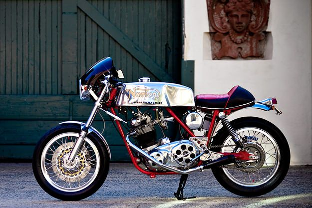 How can you improve on the stock Norton Commando Mk III? Bill Becker shows how, with this amazing resto-mod cafe racer.