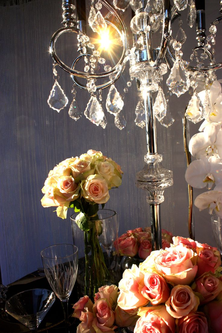 French Opulence Styling by Decor It Events  www.decorit.com.au   #french #opulence #centerpiece #crystal #candelabra #wedding #lunch #gold #pink #roses #linenhire #linen #melbourne #melbourneevents #decorations #inspiration #tablelinen #decoritevents (46)