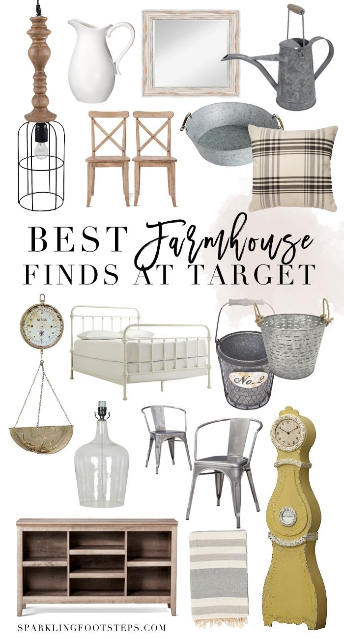 I put together a list of the best french farmhouse decor finds at Target. These are affordable ways to incorporate farmhouse decor in your home!