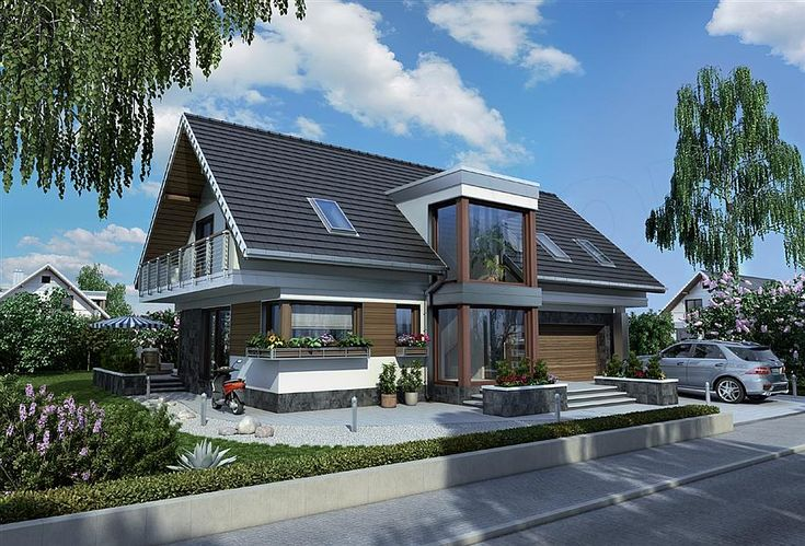 projekt Kalipso - murowana – beton komórkowy KRD2654