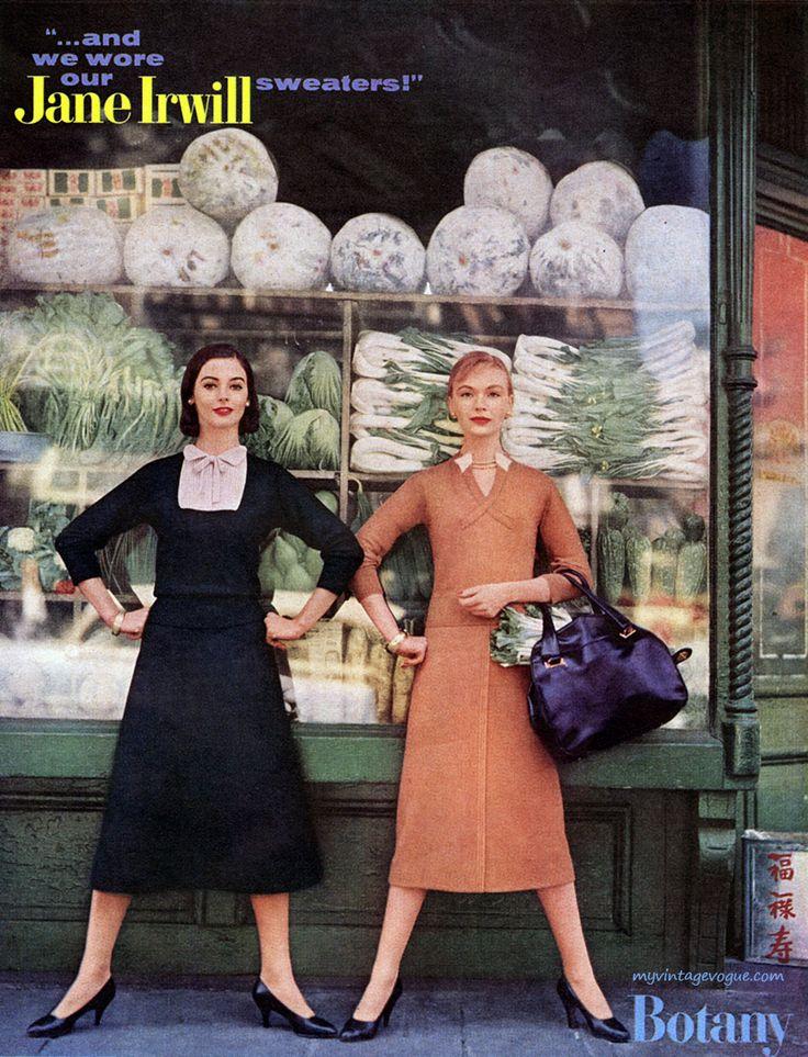 Fashions by Jane Irwill, 1957