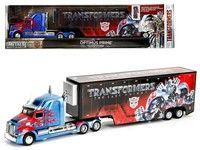 "Brand new 1/64 scale diecast model of Western Star 5700 XE Optimus Prime Hauler ""Transformers 5"" die"