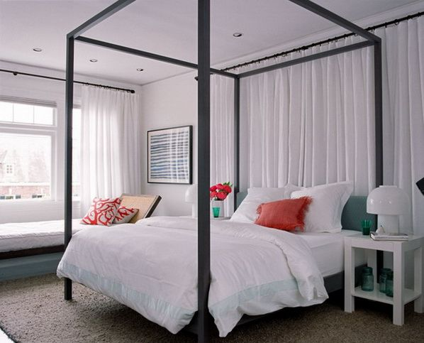 Contemporary Canopy Bed Designs
