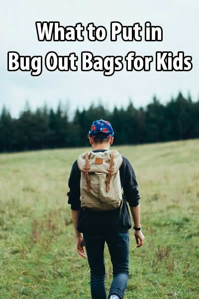 You don't want to make your kids carry too much weight, but they can at least carry a few basic supplies. So what should you put in bug out bags for kids? via @tinhatranch