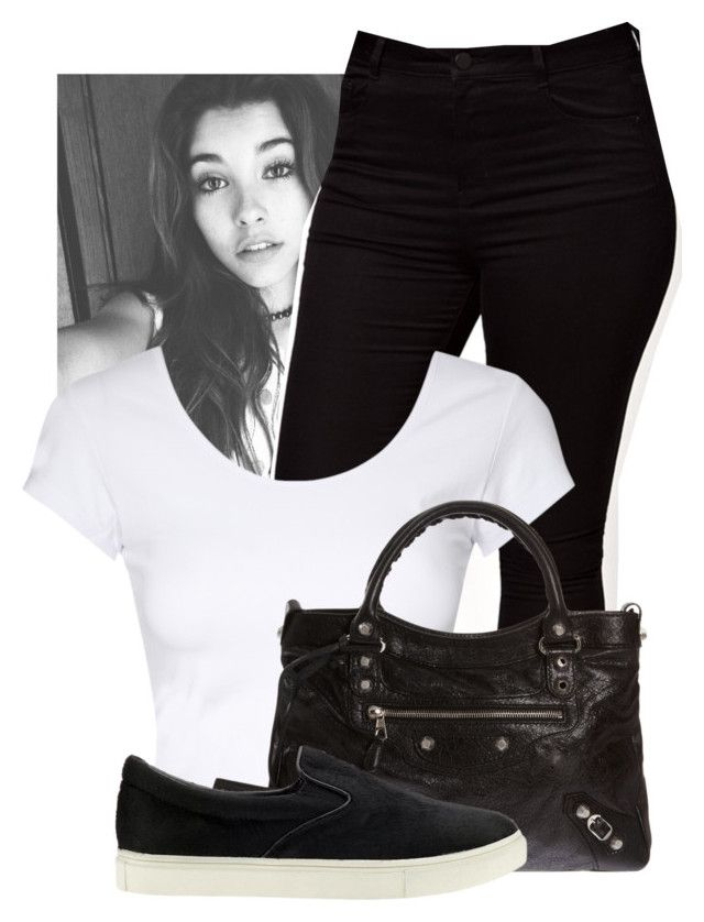 """Unbreakable ✘ Madison Beer"" by shermeacka ❤ liked on Polyvore featuring ASOS Curve, Jane Norman, Balenciaga and Steve Madden"