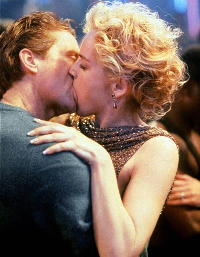 "Sharon Stone et Michael Douglas dans ""Basin Instinct"" (1992)"
