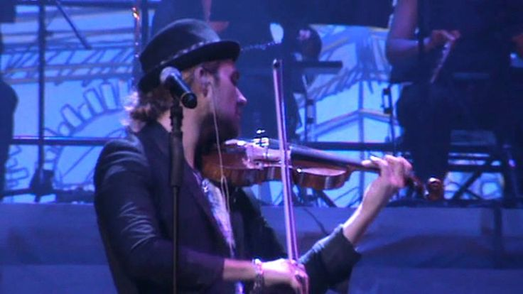 "David Garrett Rock Symphonies Tour 2011 - ""So close"" 07.06.11 Oberhausen 