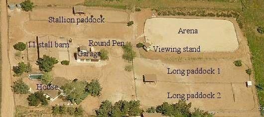 FIVE ACRE HORSE FARM LAYOUT - Google Search