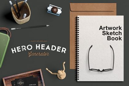 This Free Hero Image PSD Mockup will help you to present your design in a photo-realistictop view scenes.This free header …