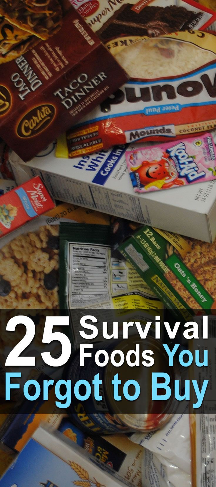 There are basic survival foods that can be found in every bunker. But there's a whole host of other survival foods that are often overlooked.
