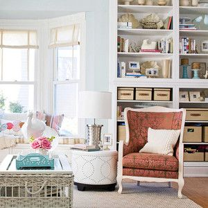 Arranging bookshelves can be tricky. However, there are some basic steps to remember and the rest is left up to the eye. Steps to Styling a Bookcase: 1. Whether it's aplethoraof books or simply a…
