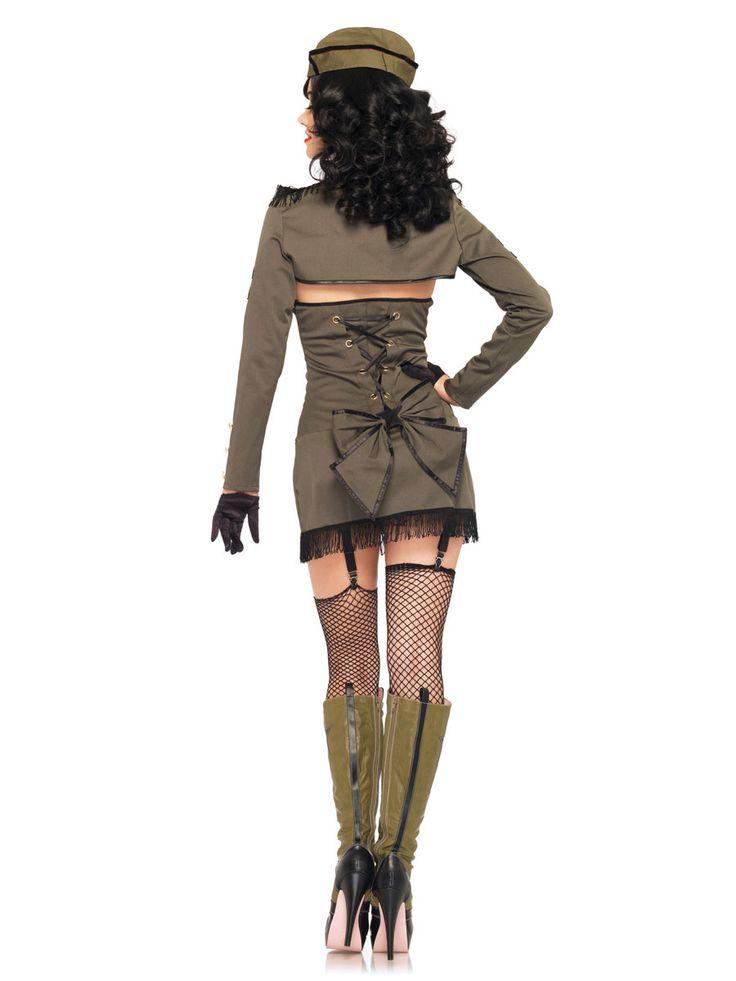 pin up girl dresses | ... ladies fancy dress ladies army fancy dress pin up army girl costume