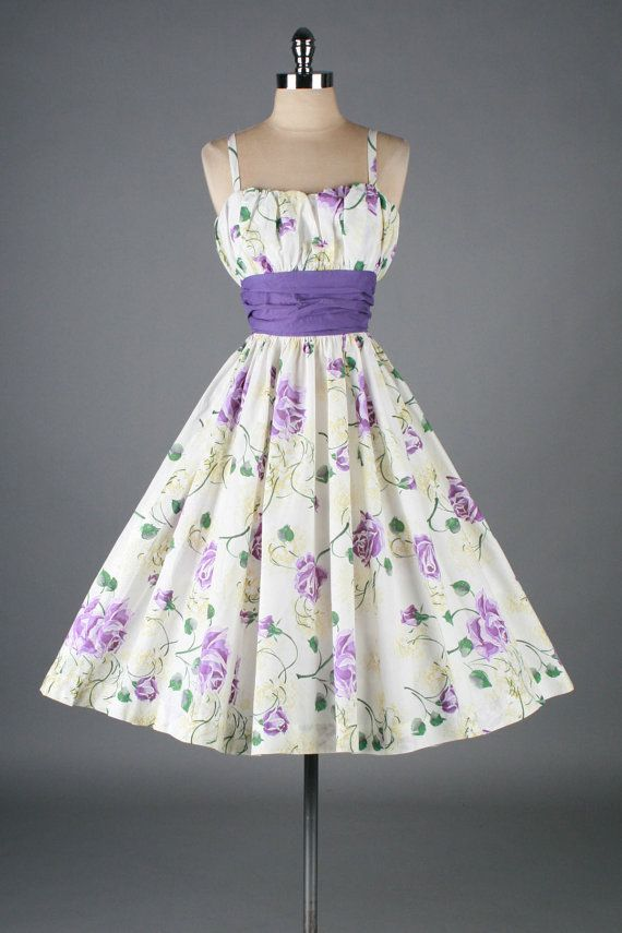 25  best ideas about 1950s Dresses on Pinterest | 1950s fashion ...