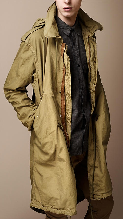 Burberry Brit Lightweight Packable Parka