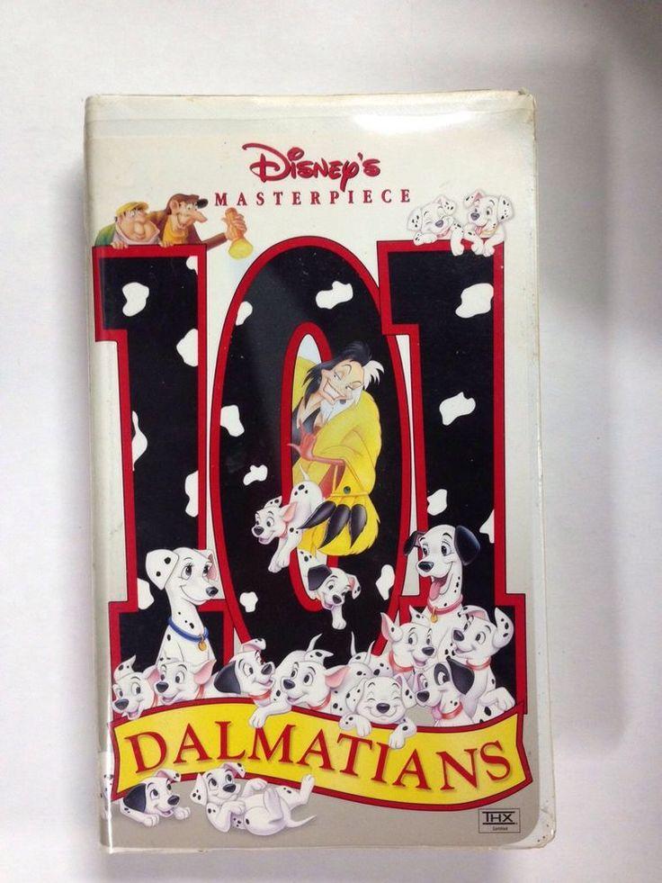 Walt Disney 101 Dalmatians VHS Masterpiece Collection Clamshell Children & Family #VHS #movie #disney #disneymovie #waltdisney