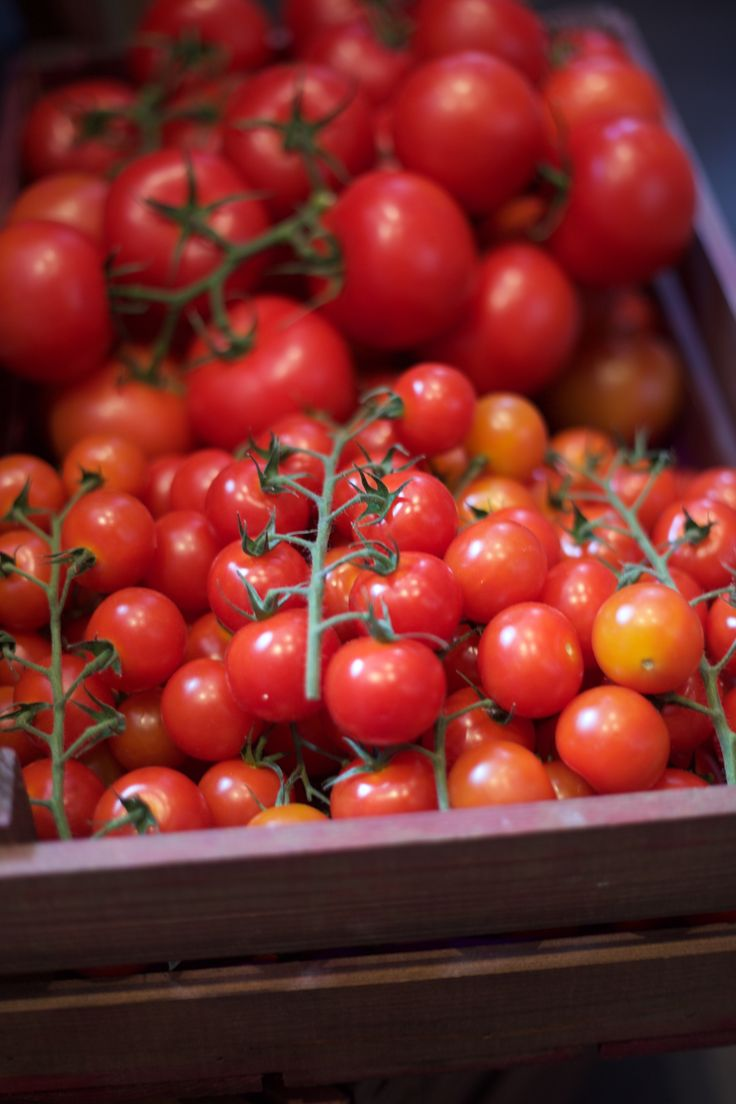 Vine ripened cherry tomatoes