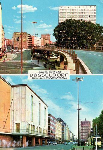 Der Düsseldorfer Tausendfüssler in den '70er Jahren #Tausendfüßler, Düsseldorf