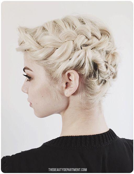 Updo ideas for bob length hair