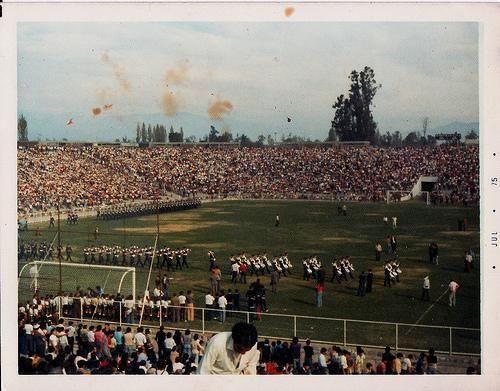 Inauguración Estadio Monumental ,1975