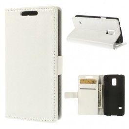 Galaxy S5 mini valkoinen puhelinlompakko