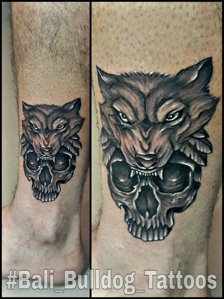 #wolf_Tattoo #skull_Tattoo #Bali_Bulldog_Tattoos #Bali_Tattoo #Bali_Bulldog_Tattoo