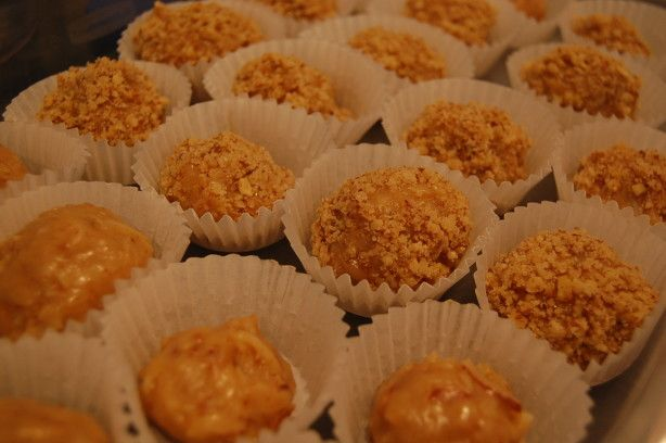 I have not made this recipe but it was given to me when I was in Costa Rica several years ago and everyone that tried them loved them -  I think you need a sweet tooth for this one.