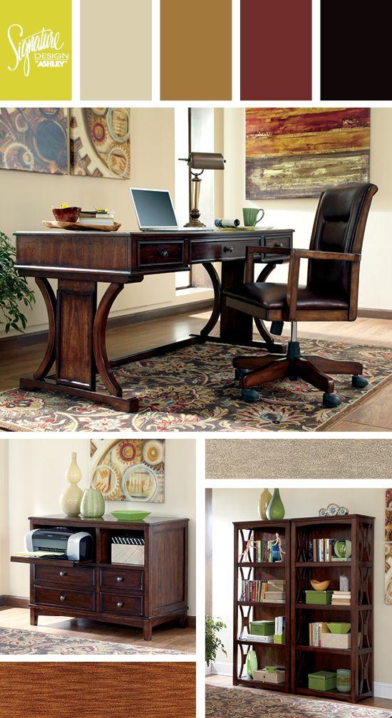Devrik Home Office - Ashley Furniture