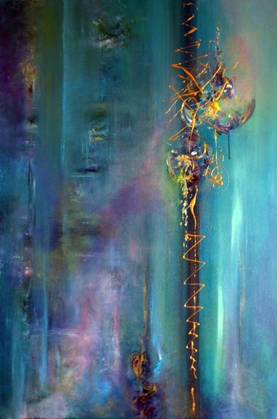"""Sarabande"" 90x60cm by artist Jaanika Talts (SOLD)♥•♥•♥"