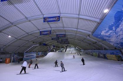 'Wintersport' in Zoetermeer bij Snowworld