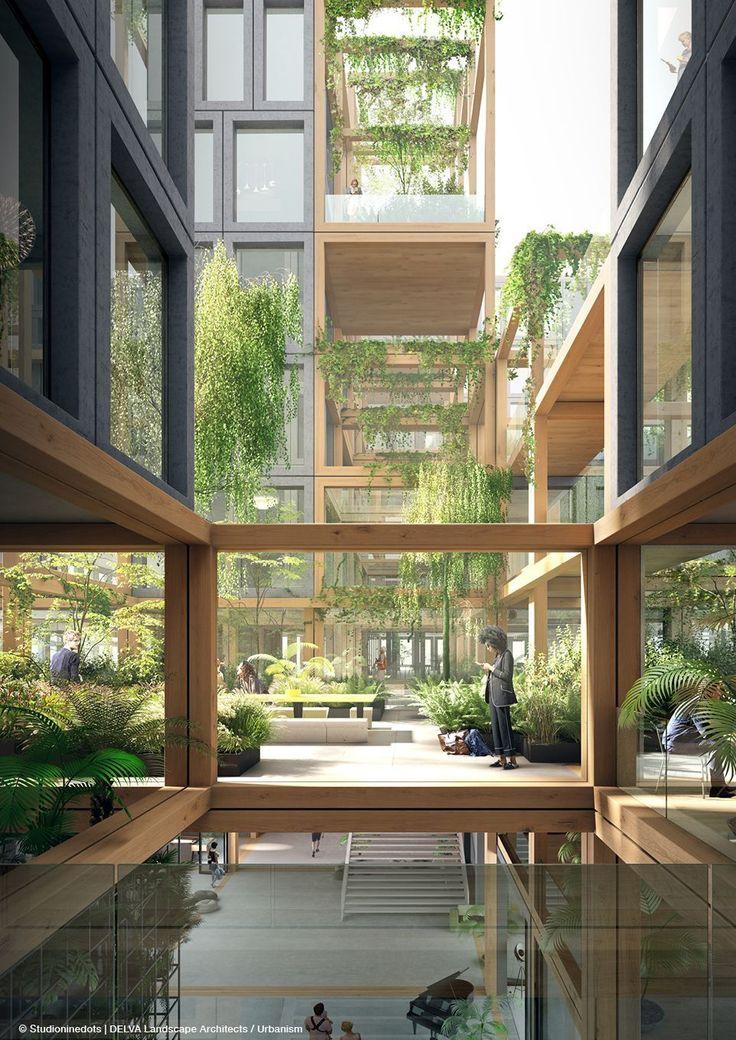 Team REBEL presenteert Kop Zuidas – Amsterdam - Delva Landscape Architects #landscapearchitecture