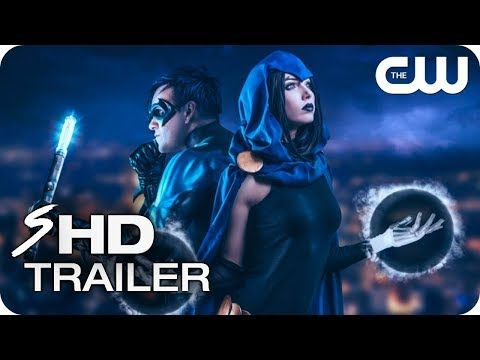 Teen Titans | Teaser Trailer | The CW - TV Series HOLLAND RODEN, RAY FISHER (Fan Made) - YouTube