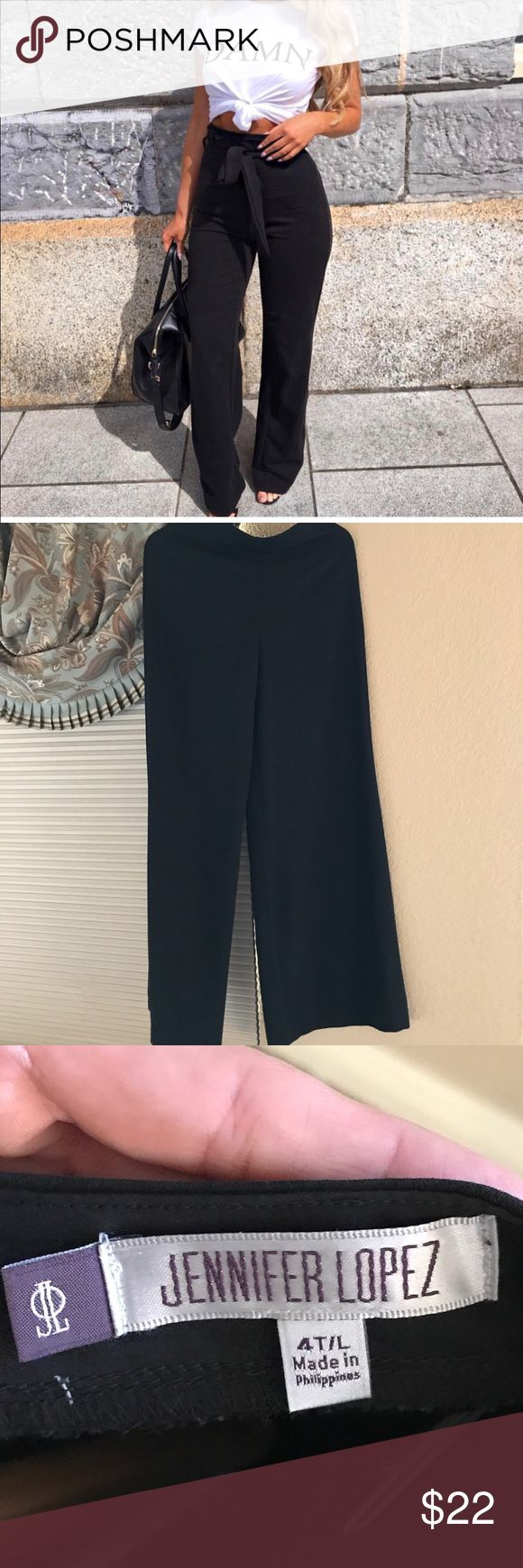 """DAMN top and wide leg pants I have the exact shirt for sale. Size small. Similar wide leg pants without a belt. Size 4 tall/long... $20 for both or $12 each. I'm 5'5"""" and wore the pants with 5"""" platforms and they fit perfect! No rips, tears, or stains on either item Other"""