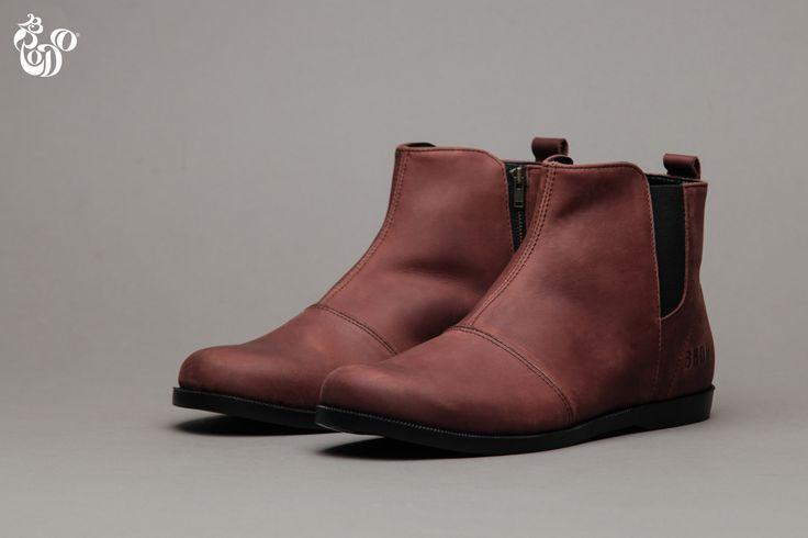 Carnera Vintage Wood Black Sole From Brodo Footwear. Visit www.bro.do #Men #Fashion #Shoes #TosJantan