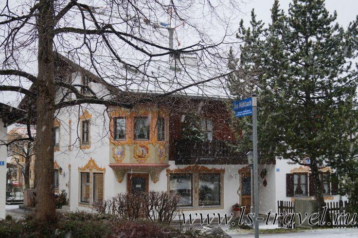 Обераммергау.  Оазис искусств в Баварии