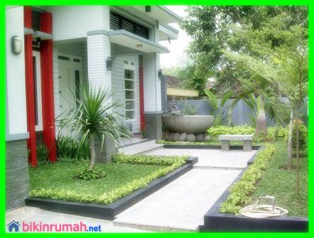 Hal hal Penting Dalam Desain Taman Minimalis  Depan Rumah