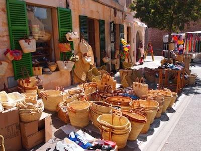 Neues von der Insel: Samstag Morgen - Markt in Santanyi, Mallorca