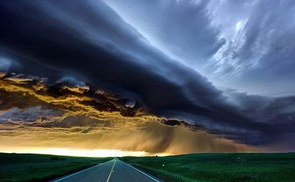 Imagens das tempestades mais brutais do mundo