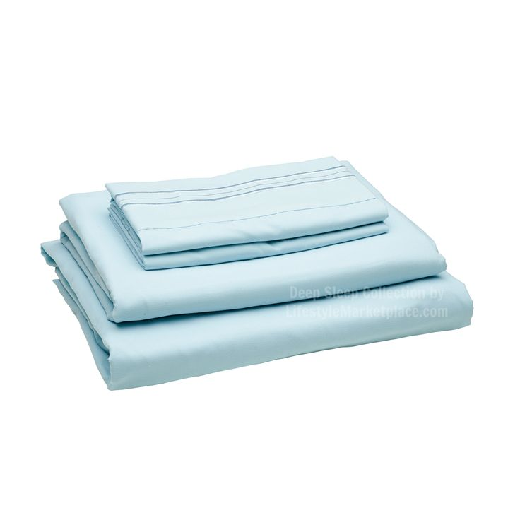 Twin XL Extra Long / Dorm / Hospital Bed Sheets - Deep Sleep 1800 Thread Count 3 pc Sheet Set - Ultra Soft, Deep Pockets